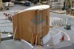 project amsterdam prefab cirkel beton muur elementen