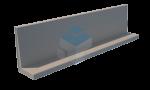 Keerwand L-vorm 1000 mm hoog