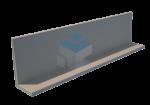 Keerwand L-vorm 1500 mm hoog