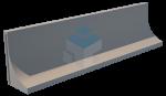 Sleufsilowand TDB-LR 1000 feedwalls silowanden sleufsilowanden keerwand silowand