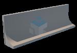 Sleufsilowand TDB-LR 1500 feedwall silowanden sleufsilowanden keerwanden