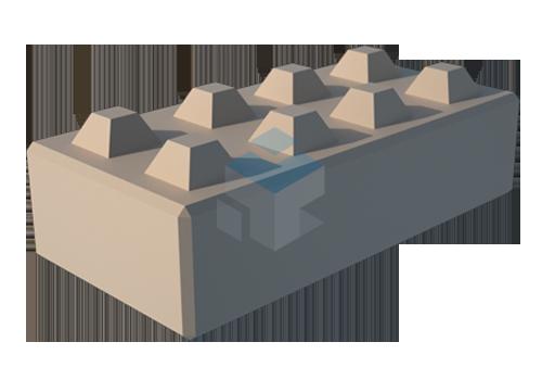 stapelblok tdb sc 1600x800x400 thijssen den brok beton. Black Bedroom Furniture Sets. Home Design Ideas